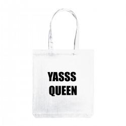 """Сумка холщевая с принтом """"Yasss Queen"""""""