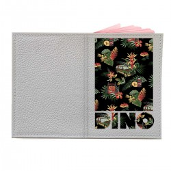 """Обложка на паспорт с принтом """"Dino"""""""