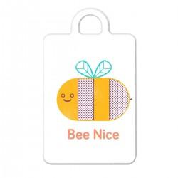 "Брелок с принтом ""Bee Nice"""