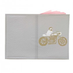 """Обложка на паспорт с принтом """"Bike"""""""
