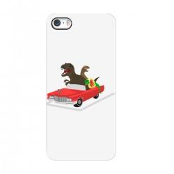 """Чехол для Apple iPhone с принтом """"Динозавры на прогулке"""""""