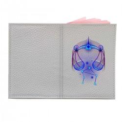 """Обложка на паспорт с принтом """"Весы в синем"""""""