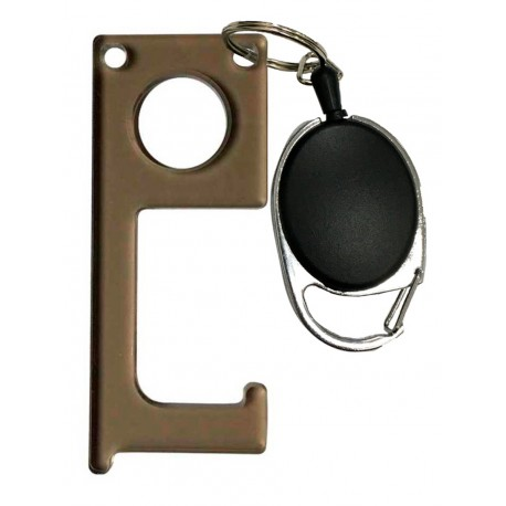 Пушпул (PushPull) TopMag серый с ретрактором