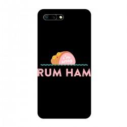 """Чехол для HUAWEI с принтом """"Rum Ham"""""""