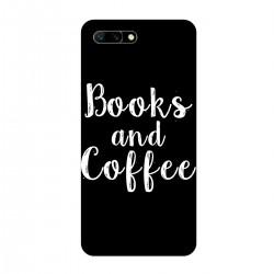 """Чехол для HUAWEI с принтом """"Books and Coffee"""""""