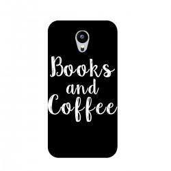 "Чехол для Meizu с принтом ""Books and Coffee"""