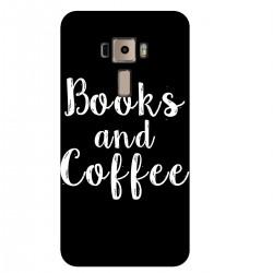 "Чехол для Asus с принтом ""Books and Coffee"""