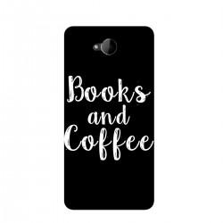 "Чехол для Microsoft с принтом ""Books and Coffee"""
