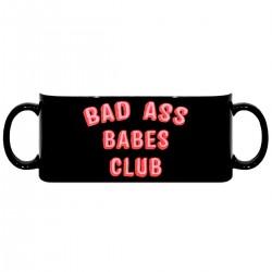 """Кружка с принтом """"Bad Ass Babes Club"""""""