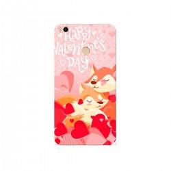 """Чехол для Xiaomi с принтом """"Влюбленные лисички"""""""