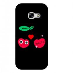"""Чехол для Samsung с принтом """"Влюбленная вишня"""""""
