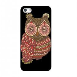 """Чехол для Apple iPhone с принтом """"Удивленная сова"""""""