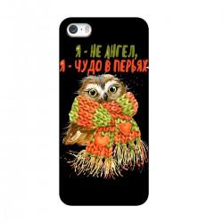 """Чехол для Apple iPhone с принтом """"Чудо в перьях"""""""