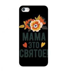"""Чехол для Apple iPhone с принтом """"Цветы"""""""