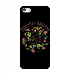 """Чехол для Apple iPhone с принтом """"Любимая мамочка"""""""