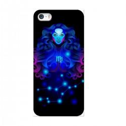 """Чехол для Apple iPhone с принтом """"Дева синяя"""""""