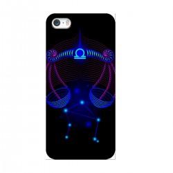 """Чехол для Apple iPhone с принтом """"Весы синие"""""""
