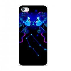 """Чехол для Apple iPhone с принтом """"Близнецы синие"""""""