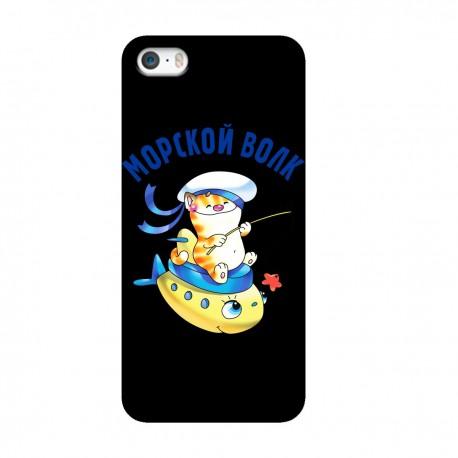 """Чехол для Apple iPhone с принтом """"Морской волк"""""""