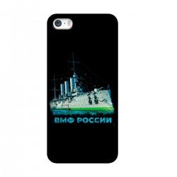 """Чехол для Apple iPhone с принтом """"Крейсер Аврора"""""""