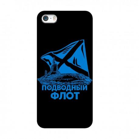 """Чехол для Apple iPhone с принтом """"Подводный флот"""""""