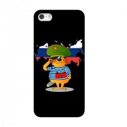 """Чехол для Apple iPhone с принтом """"Служу Отечеству"""""""