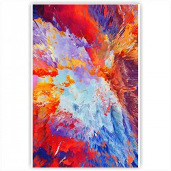 """Холст с принтом """"Взрыв красок"""" (20x30cм)"""