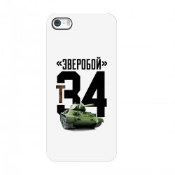 """Чехол для Apple iPhone с принтом """"Зверобой"""""""