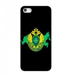 """Чехол для Apple iPhone с принтом """"Эмблема Пограничных Войск"""""""
