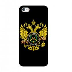 """Чехол для Apple iPhone с принтом """"Эмблема Мотострелковых Войск"""""""