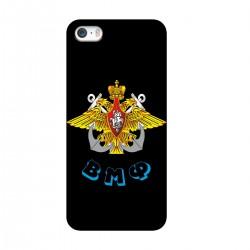 """Чехол для Apple iPhone с принтом """"Эмблема ВМФ"""""""