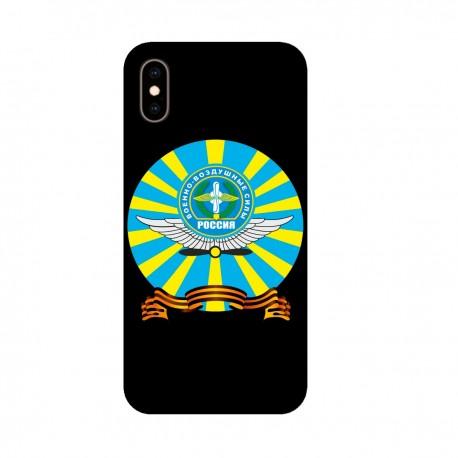"""Чехол для Apple iPhone с принтом """"Эмблема ВВС"""""""