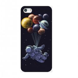 """Чехол для Apple iPhone с принтом """"Космонавт в открытом космосе"""""""