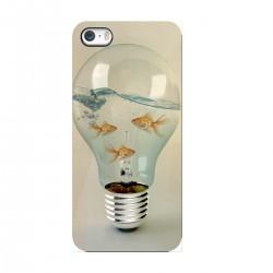 """Чехол для Apple iPhone с принтом """"Лампа-аквариум"""""""