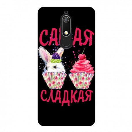 """Чехол для Nokia с принтом """"Кролик"""""""