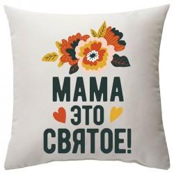 """Подушка с принтом """"Цветы"""""""