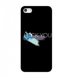 """Чехол для Apple iPhone с принтом """"Luck you-3"""""""