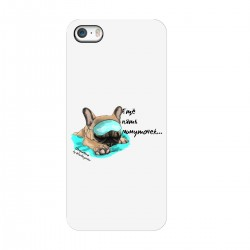 """Чехол для Apple iPhone с принтом """"Еще пять минуточек-2"""""""