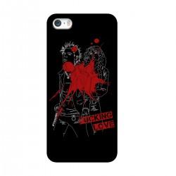 "Чехол для Apple iPhone с принтом ""Fucking love-6"""