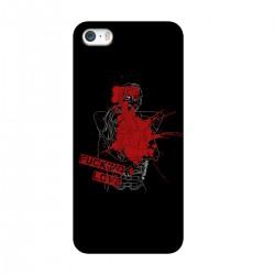 "Чехол для Apple iPhone с принтом ""Fucking love-5"""