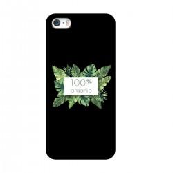 """Чехол для Apple iPhone с принтом """"100% organic-2"""""""
