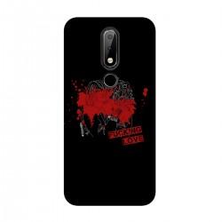 """Чехол для Nokia с принтом """"Fucking love-8"""""""