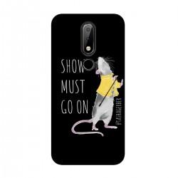 """Чехол для Nokia с принтом """"Show must go on-2"""""""