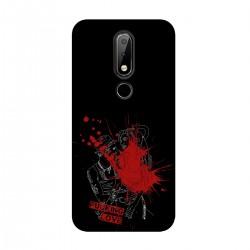 """Чехол для Nokia с принтом """"Fucking love-7"""""""