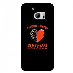 """Чехол для HTC с принтом """"Сердце Хэллоуина"""""""