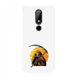 """Чехол для Nokia с принтом """"Смерть с косой"""""""
