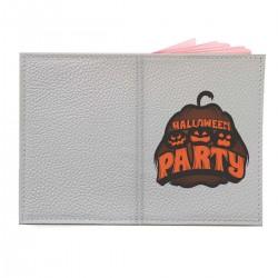 """Обложка на паспорт с принтом """"Halloween party"""""""