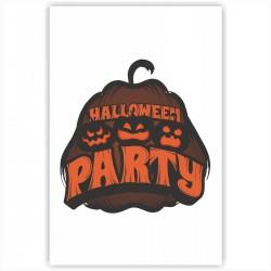 "Холст с принтом ""Halloween party"" (20x30cм)"