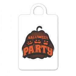 "Брелок с принтом ""Halloween party"""