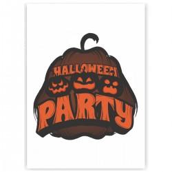 "Холст с принтом ""Halloween party"" (30x40 cм)"